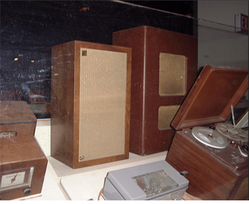 AR-3 loudspeaker on display at the Smithsonian Institution in Washington, DC